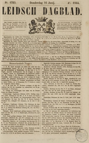Leidsch Dagblad 1864-06-16