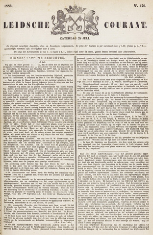 Leydse Courant 1883-07-28
