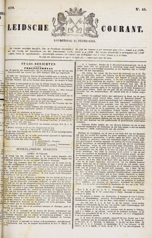 Leydse Courant 1879-02-20