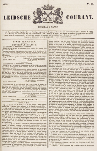 Leydse Courant 1875-03-09