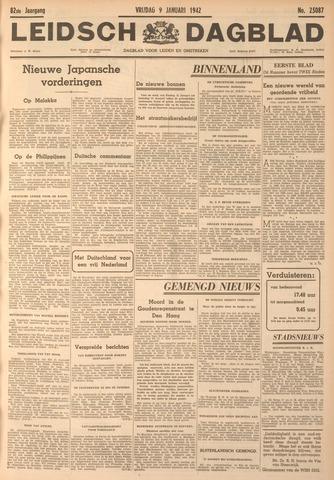 Leidsch Dagblad 1942-01-09