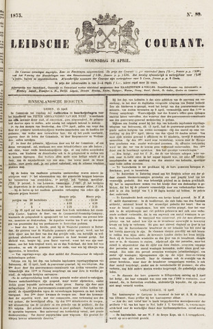 Leydse Courant 1873-04-16