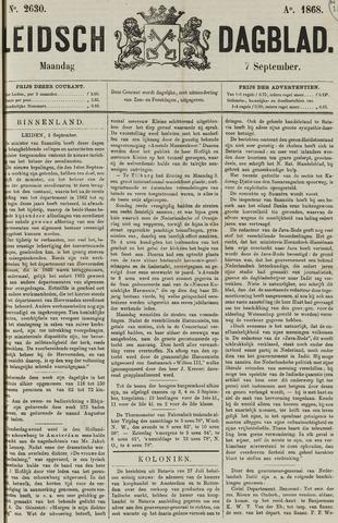 Leidsch Dagblad 1868-09-07