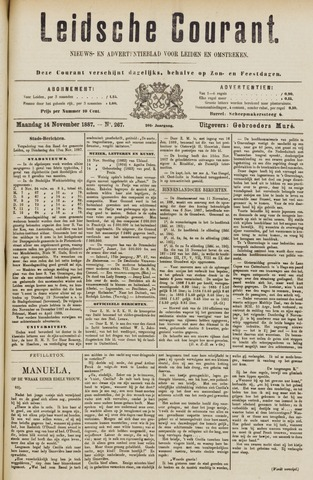 Leydse Courant 1887-11-14