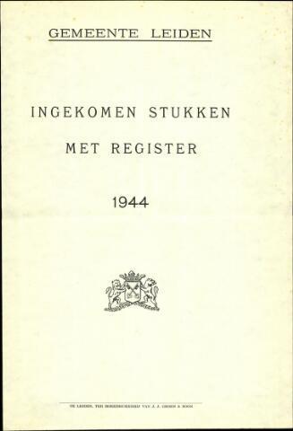 Handelingen van de Raad 1944-01-01