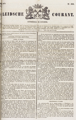Leydse Courant 1875-10-28
