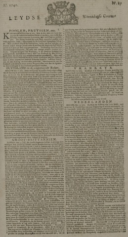 Leydse Courant 1740-07-20