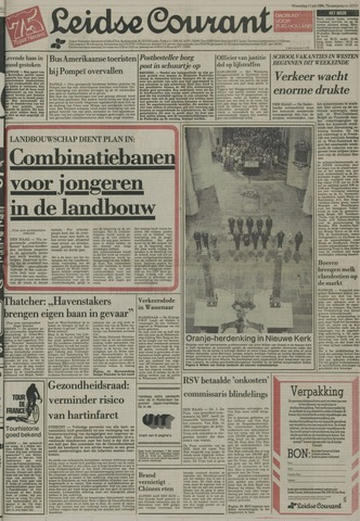 Leidse Courant 1984-07-11