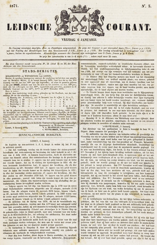 Leydse Courant 1871-01-06