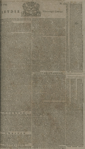 Leydse Courant 1743-03-06