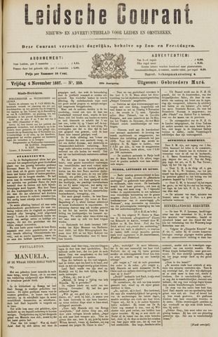 Leydse Courant 1887-11-04