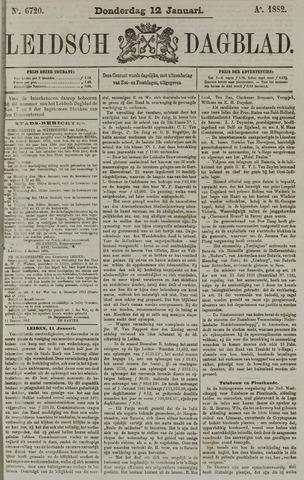 Leidsch Dagblad 1882-01-12