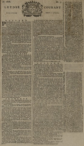 Leydse Courant 1808-04-27