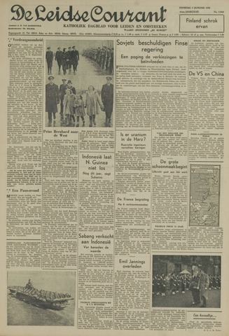 Leidse Courant 1950-01-03