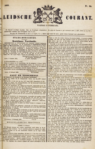 Leydse Courant 1883-02-09