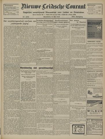 Nieuwe Leidsche Courant 1939-05-15