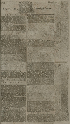 Leydse Courant 1743-11-18
