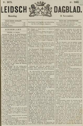 Leidsch Dagblad 1868-11-02
