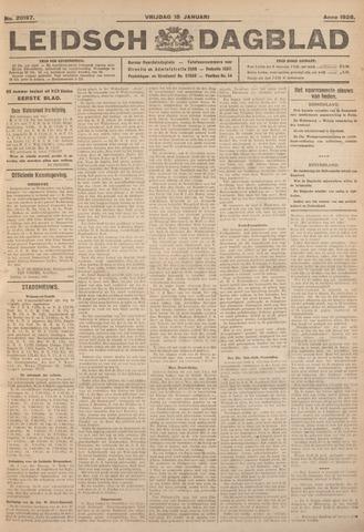 Leidsch Dagblad 1926-01-15