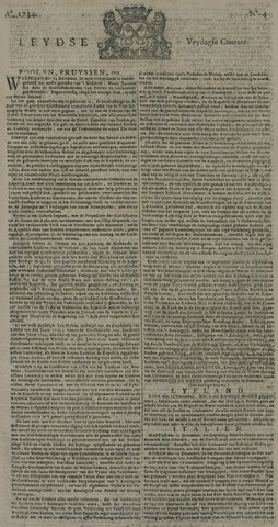Leydse Courant 1734-01-08