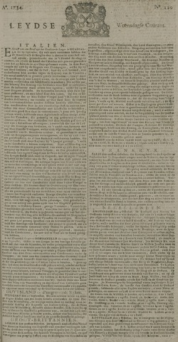 Leydse Courant 1734-10-06