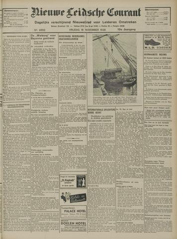Nieuwe Leidsche Courant 1938-11-18