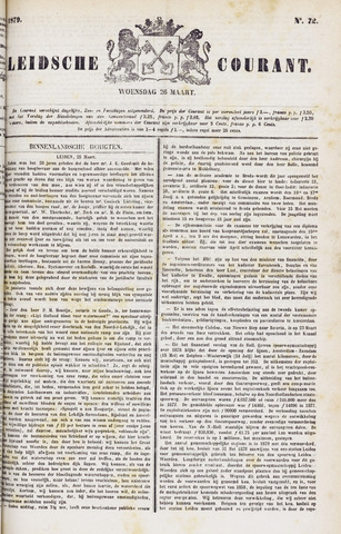 Leydse Courant 1879-03-26