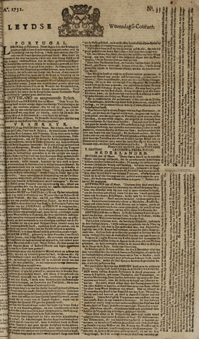 Leydse Courant 1752-03-22