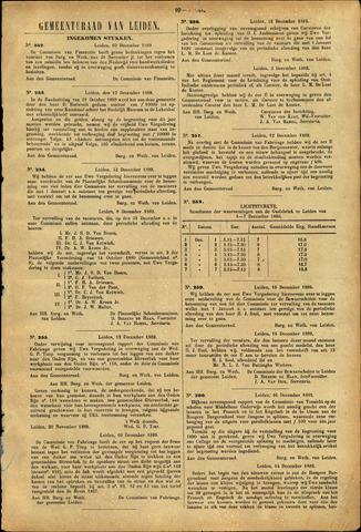 Handelingen van de Raad 1889-12-10