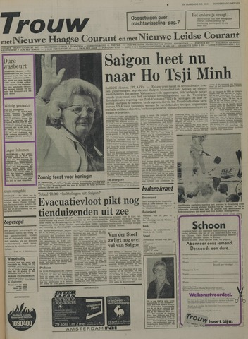 Nieuwe Leidsche Courant 1975-05-01