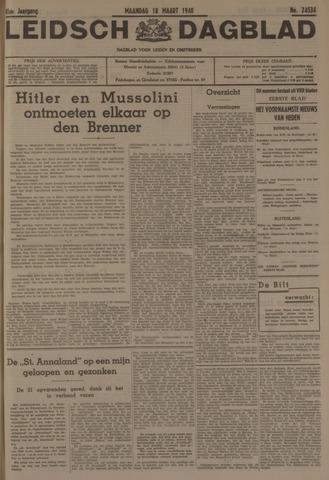 Leidsch Dagblad 1940-03-18