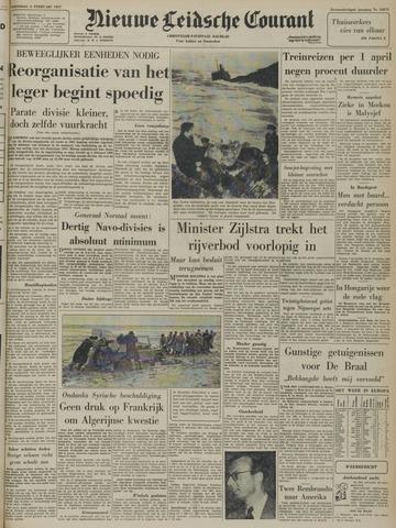 Nieuwe Leidsche Courant 1957-02-06