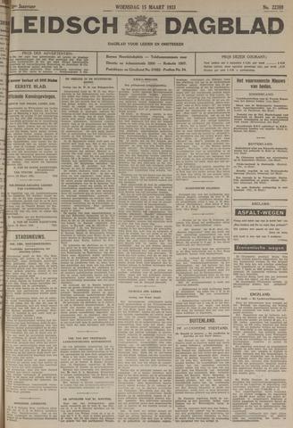 Leidsch Dagblad 1933-03-15