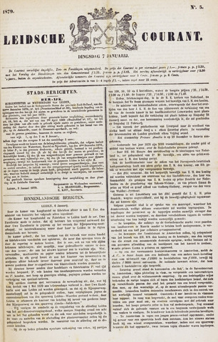 Leydse Courant 1879-01-07