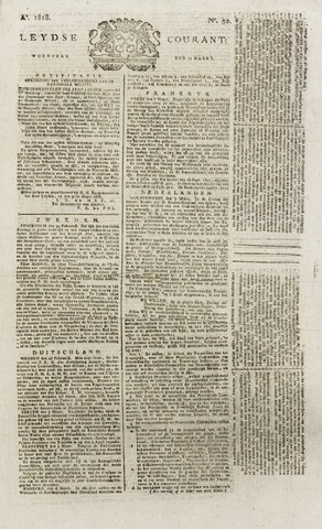 Leydse Courant 1818-03-11