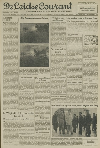 Leidse Courant 1951-11-22