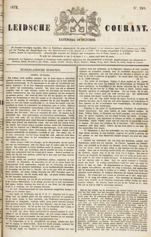 Leydse Courant 1872-10-19