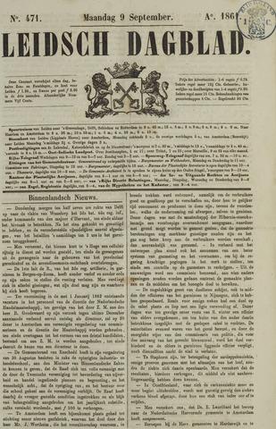 Leidsch Dagblad 1861-09-09