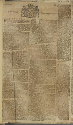 Leydse Courant 1772