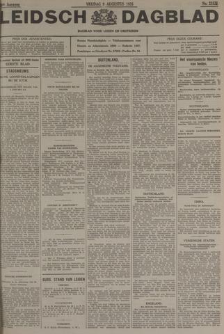 Leidsch Dagblad 1935-08-09