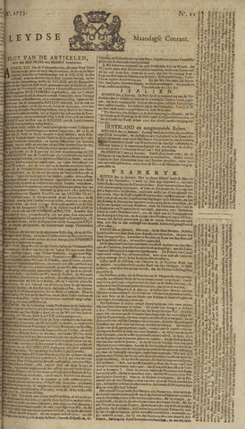 Leydse Courant 1755-01-27