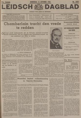 Leidsch Dagblad 1938-09-15