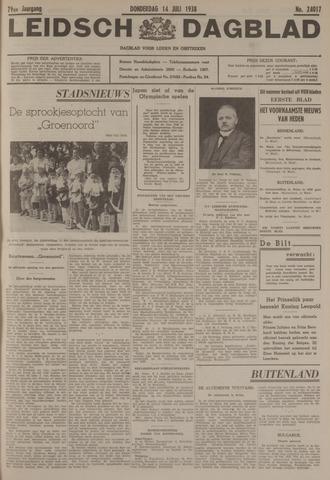 Leidsch Dagblad 1938-07-14