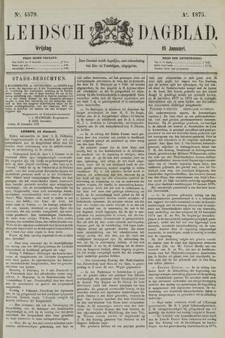 Leidsch Dagblad 1875-01-15