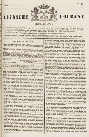 Leydse Courant 1873-04-22