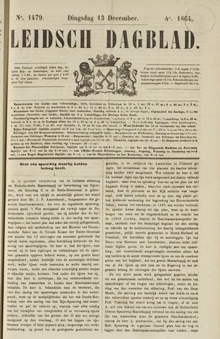Leidsch Dagblad 1864-12-13