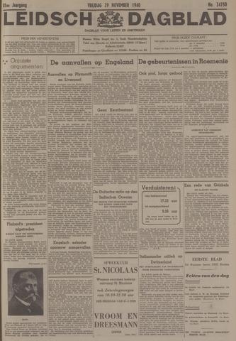 Leidsch Dagblad 1940-11-29