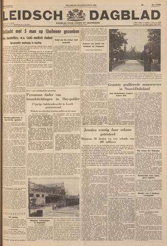 Leidsch Dagblad 1951-08-20