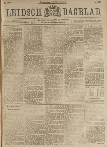 Leidsch Dagblad 1902-02-17