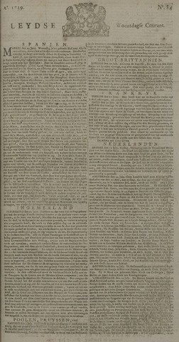 Leydse Courant 1739-07-15